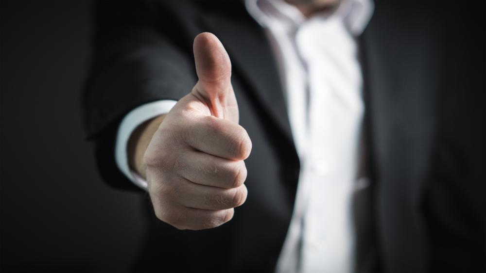business broker raleigh thumbs up